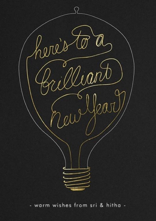 Nieuwjaarsgroet idee 1