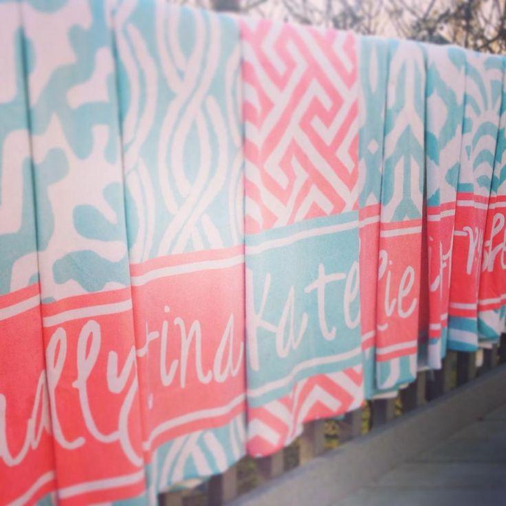 Badhanddoeken met naam en print