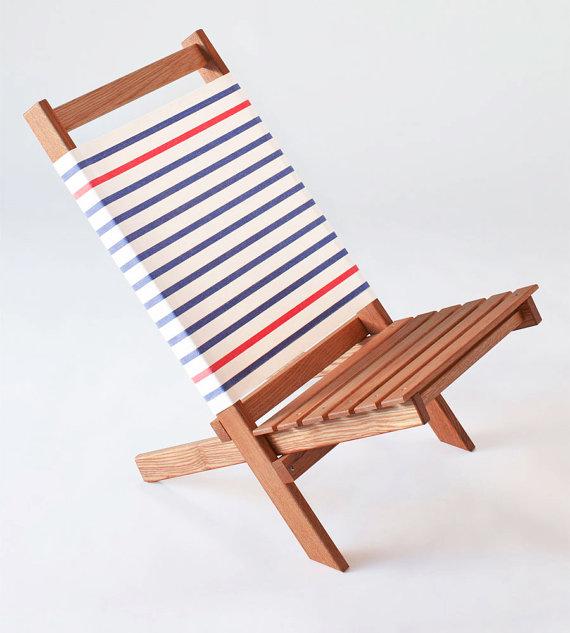 Design strandstoel