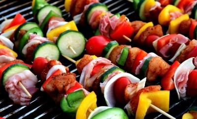 barbecue spiesjes ideeën