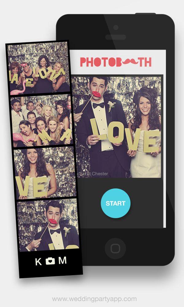 fotobooth op bruiloft