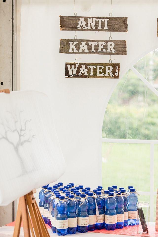 Trouwbedankje bij bruiloftsfeest