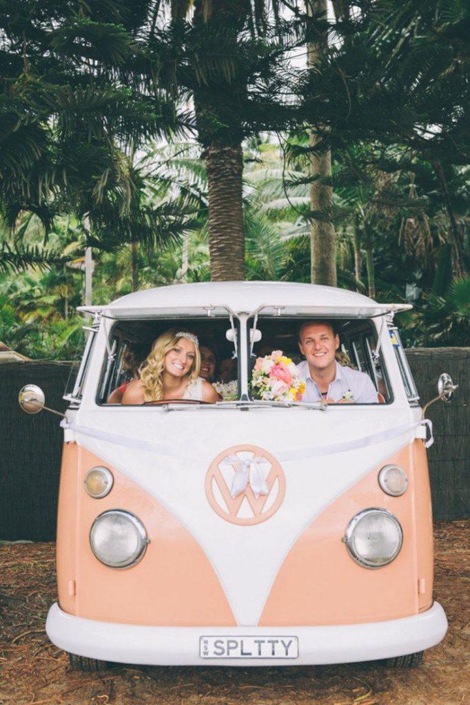 volkwagenbusje huren voor trouwen