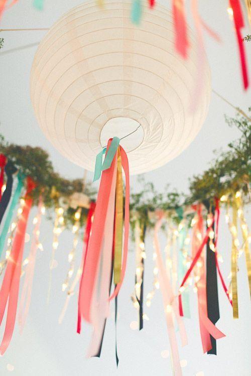 lampion als trouwdecoratie