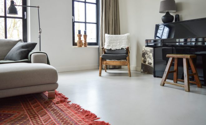 Gietvloer Op Beton : Een gietvloer met vloerverwarming; kan dat? lifestyle vision