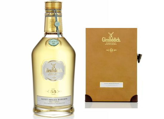 Glenfiddich Janet Sheed Roberts Reserve 1955 whiskey