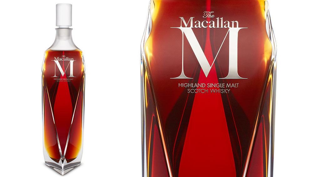 "The Macallan ""M"" whiskey"