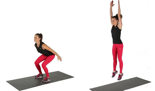 bovenbenen trainen voor vrouwen