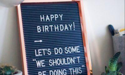 onvergetelijk verjaardagsfeest