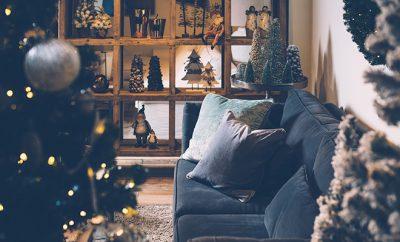 gezellig winter interieur
