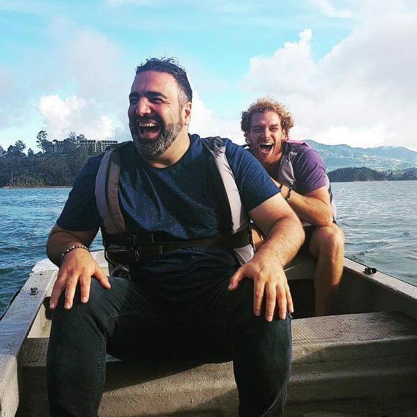 Jamie Trenité en Sinan Can uit Wie is de Mol? 2019.