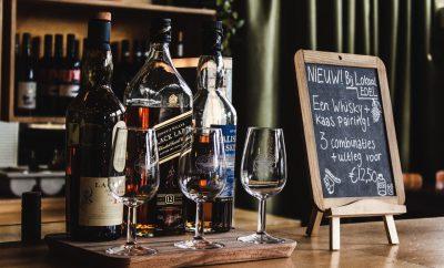 organiseer een whisky tasting