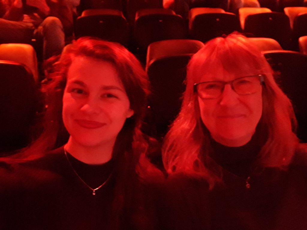 Mijn moeder en ik tijdens de Avond van de Filmmuziek