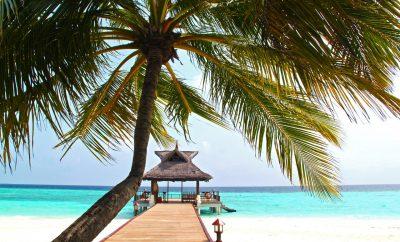 Prachtig strand Malediven