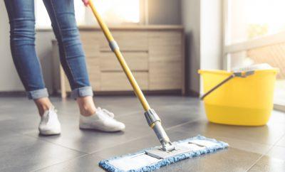 schoonmaaktips vloer reinigen