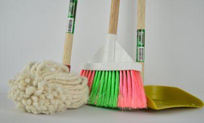 Zelf huis poetsen
