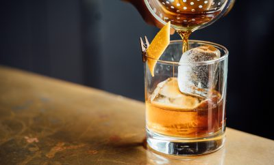 Rum cocktails op een rij