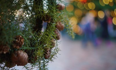 Marktkraam kerst